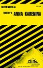 CliffsNotes on Tolstoy's Anna Karenina Cover Image