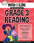 Mad Libs Workbook: Grade 3 Reading (Mad Libs Workbooks) Cover Image
