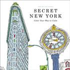 Secret New York: Color Your Way to Calm Cover Image
