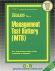 Management Test Battery (MTB) (Career Examination Series #4483) Cover Image