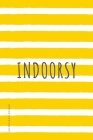 INTROVERT POWER Indoorsy: The secret strengths of INFJ personality Dot Grid Composition Notebook with Funny quote Gift idea for Introverts Cover Image