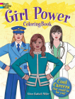 Girl Power Coloring Book: Cool Careers That Could Be for You! (Dover Coloring Books) Cover Image