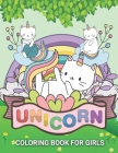 Unicorn Coloring Books for Girls: Heaven Garden Cats Unicorn Coloring Books For Girls 4-8 for Girls, Children, Toddlers, Kids Cover Image