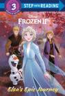 Elsa's Epic Journey (Disney Frozen 2) (Step into Reading) Cover Image