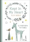 Kept in My Heart KJV Bible [Hazel Woodland]: A Keepsake for Baby Cover Image