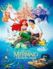 The Little Mermaid Coloring Book: Coloring Book for Kids and Adults 45+ illustrations Cover Image