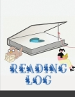 Reading Log: Gifts for Book Lovers (A reading journal with 100 spacious record pages and more in a large soft covered notebook from Cover Image