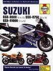 Suzuki GSX-R600 '01 to '03, GSX-R750 '00 to '03, GSX-R1000 '01-'02 (Haynes Service & Repair Manual) Cover Image