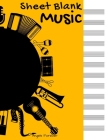 Music Sheet Blank: Staff Music Writing Pad - 12 Staves per Page, 100 Pages, 8.5 x 11
