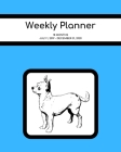 Weekly Planner: Chihuahua; 18 months; July 1, 2019 - December 31, 2020; 8