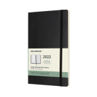 Moleskine 2022  Weekly Planner, 12M, Large, Black, Soft Cover (5 x 8.25) Cover Image