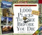 1,000 Places to See Before You Die Page-A-Day Calendar 2007: 365 Days of Travel Cover Image