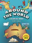Around the World Coloring Book (Dover History Coloring Book) Cover Image