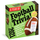 Year of Football Trivia! Page-A-Day Calendar 2021 Cover Image