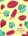 Weekly Planner: Watermelon; 18 months; July 1, 2019 - December 31, 2020; 8