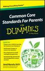 Common Core Standards for Parents for Dummies Cover Image