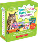 Nonfiction Sight Word Readers Parent Pack Level C: Teaches 25 key Sight Words to Help Your Child Soar as a Reader! Cover Image