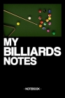 My Billiard Notes: Notebook - Billiard - Training - Successes - Strategy - gift idea - gift - squared - 6 x 9 inch Cover Image