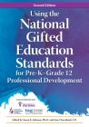 Using the National Gifted Education Standards for Pre-K-Grade 12 Professional Development Cover Image