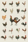 Chicken Paradise Field Journal Notebook, 50 pages/25 sheets, 4x6 Cover Image
