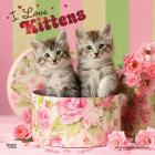 Kittens, I Love 2021 Square Foil Cover Image