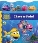Splash and Bubbles: I Love to Swim! tabbed board book Cover Image