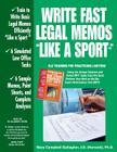 Write Fast Legal Memos Like a Sport(tm) Cover Image