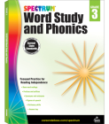 Spectrum Word Study and Phonics, Grade 3 Cover Image