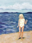 Beach Girl: Large Blank Notebook Cover Image