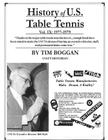History of U.S. Table Tennis Volume 9 Cover Image