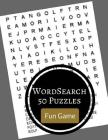Word Search 50 Puzzles Fun Game: Word find large print puzzles games books Cover Image
