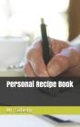 Personal Recipe Book Cover Image
