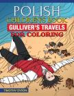 Polish Children's Book: Gulliver's Travels for Coloring Cover Image