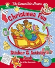 The Berenstain Bears Christmas Fun Sticker and Activity Book Cover Image