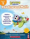 Learning Express Reading and Math Jumbo Workbook Grade 1 Cover Image