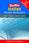 Berlitz Italian Pocket Dictionary: Italian-English/English-Italian (Berlitz Pocket Dictionaries) Cover Image