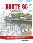Route 66: An Adult Coloring Book Cover Image