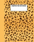 Composition Notebook: Cool gift for ... leopard accessories for women, girls & kids. Cover Image