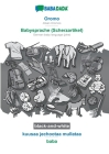BABADADA black-and-white, Oromo - Babysprache (Scherzartikel), kuusaa jechootaa mullataa - baba: Afaan Oromoo - German baby language (joke), visual di Cover Image