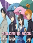 Fruits Basket Coloring Book: A Fabulous Coloring For Adults To Relax And Kick Back. Many Designs Of Fruits Basket To Color (8.5 x 11) Cover Image
