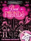 Scratch & Stencil: Best Friends Cover Image