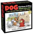 Dog Cartoon-A-Day 2020 Calendar Cover Image