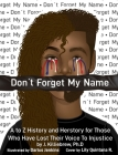 Don't Forget My Name Cover Image