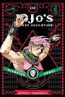 JoJo's Bizarre Adventure: Part 2--Battle Tendency, Vol. 3 (JoJo's Bizarre Adventure: Part 2--Battle #3) Cover Image