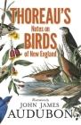 Thoreau's Notes on Birds of New England Cover Image