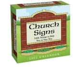 Church Signs 2022 Day-to-Day Calendar: Little Sayings to Help You on Your Way Cover Image