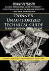 Donny's Unauthorized Technical Guide to Harley-Davidson, 1936 to Present: Volume V: Part I of II-The Shovelhead: 1966 to 1985 Cover Image