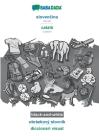 BABADADA black-and-white, slovenčina - català, obrázkový slovník - diccionari visual: Slovak - Catalan, visual dictionary Cover Image