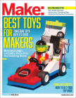 Make: Technology on Your Time, Volume 41: Tinkering Toys Cover Image