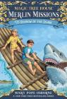 Shadow of the Shark (Magic Tree House Merlin Missions #25) Cover Image